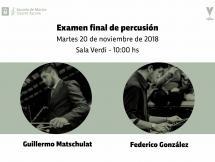 Examen final de Percusión