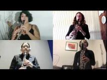 Pintín Castellanos - La Puñalada por Cuartetas (cuarteto de clarinetes de la EMVA)