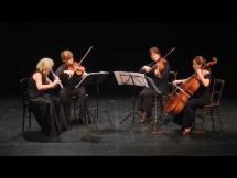 W. A. Mozart: Cuarteto #3 en Do Mayor para flauta, violin, viola y cello