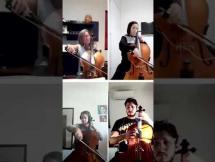 La vida es bella por el Cuarteto de violoncellos de la EMVA