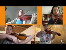 Ronda de violas. W.A. Mozart - Allegro por la cátedra de Viola de la EMVA