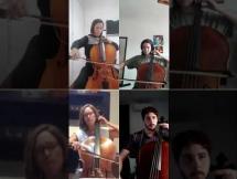 Apocalyptica - Beautiful por el Cuarteto de violoncellos de la EMVA